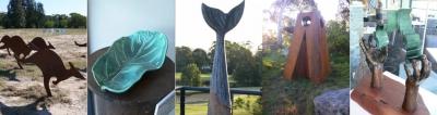 Kooindah Collage Of Sculptures